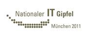 Logo 6. Nationaler IT-Gipfel 2011 München