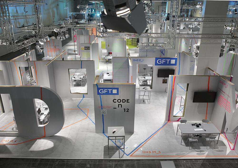 Der GFT Stand in Halle 16, D43 E_1