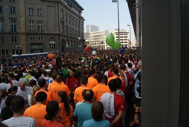 70.000 Läufer nahmen am JP Morgan Firmenlauf teil