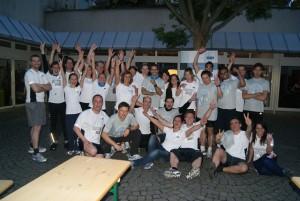 GFT Team nach dem JP Morgan Run in Frankfurt