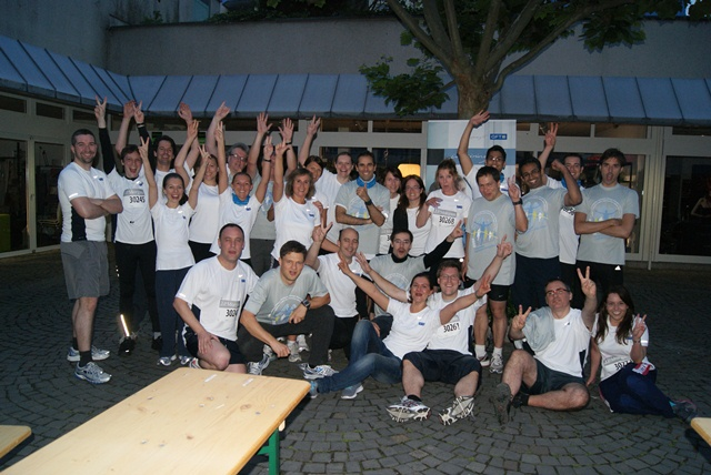GFT Team nach dem JP Morgan Run in Frankfurt