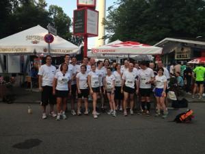 Das GFT Team nach dem Lauf