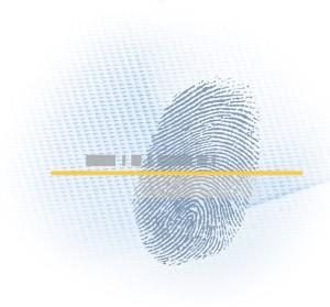 Biometrie Fingerabdruck
