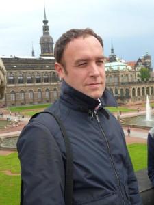 Óscar Albericio en Dresde (Alemania)