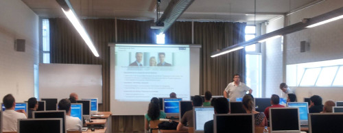 Josep Ramon Freixanet, Executive Director GFT, impartiendo el curso el año pasado