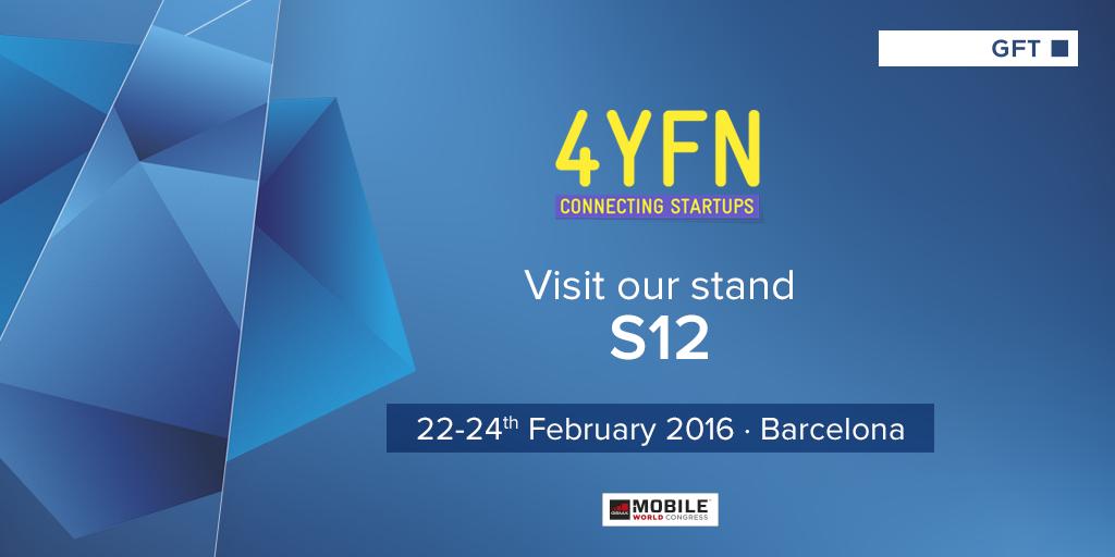 GFT busca startups tecnológicas en 4YFN