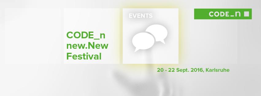CODE-n new.New Festival 2016