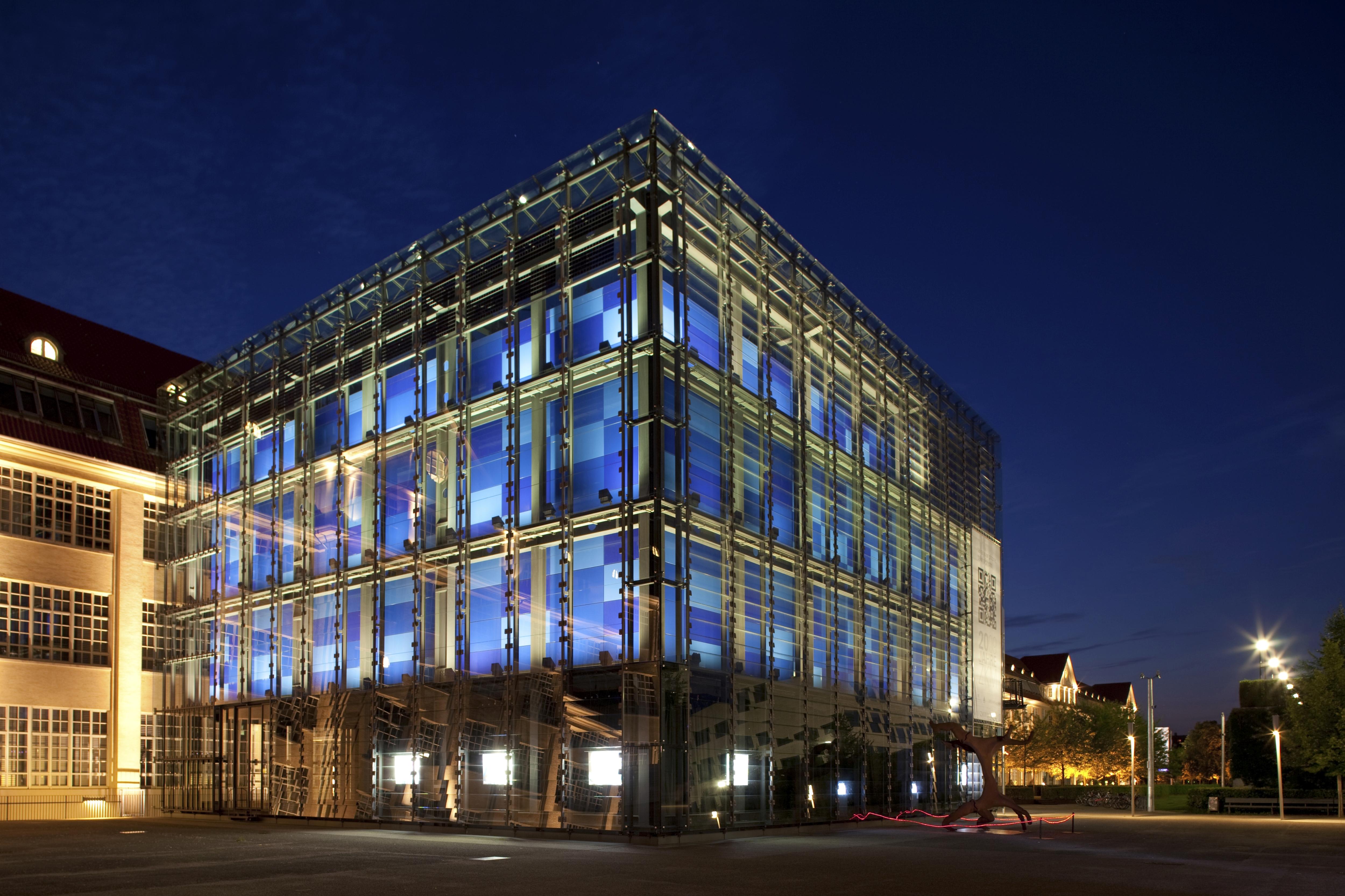 ZKM, Centro de Arte y Medios Tecnológicos de la ciudad alemana de Karlsruhe
