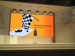 GFT under the TOP 3 of the Award Show of the SAP HANA Partner Race
