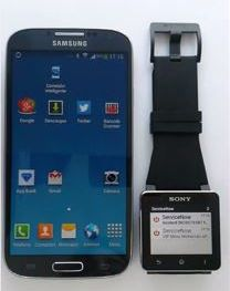 Servicenow on the Sony SmartWatch and Android