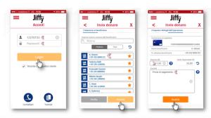 Jiffy on smartphone